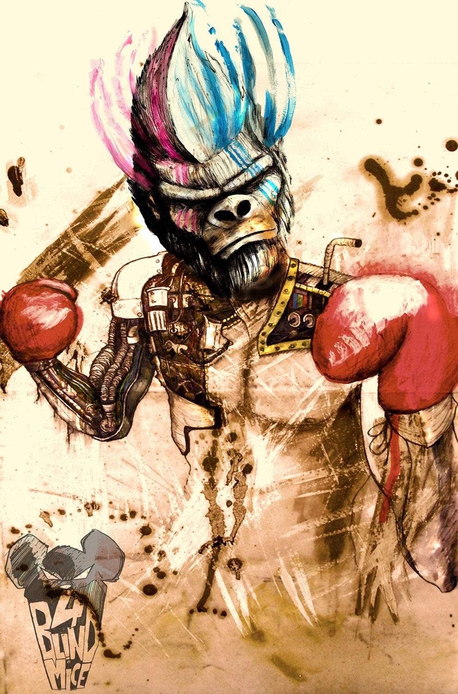 Silver Boxer