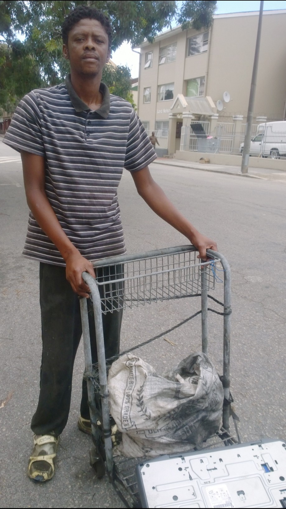 Charlie and his trolley